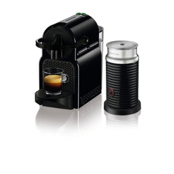 Nespresso Inissia Espresso Machine by De'Longhi with Aeroccino - Black