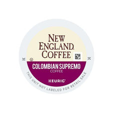 New England Coffee Colombian Supremo K-cup Pods 24ct
