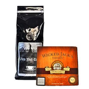 New York Coffee Decaf Midnight in Manhattan Ground Coffee 1lb Bag