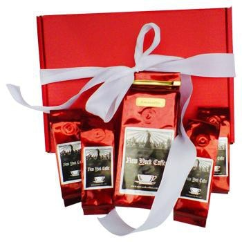 New York Coffee Decaf Valentine's Day Coffee Lovers Ground Coffee Gift Box