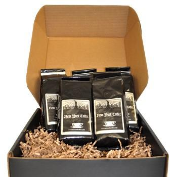 New York Coffee Home For The Holidays Flavored Coffee Beans Gift Box