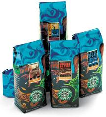 Starbucks Coffee Colombia Nariño Supremo 1Lb Bag of Beans