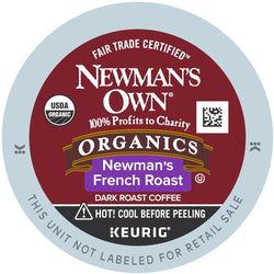 Newman's Own Organic French Roast K-cup Pods 24ct