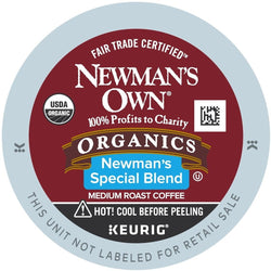 Newman's Own Organic Special Blend Extra Bold K-Cup 96ct Medium