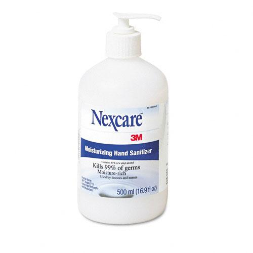 Nexcare Liquid Moisturizing Hand Sanitizer 16.9oz Pump Bottle