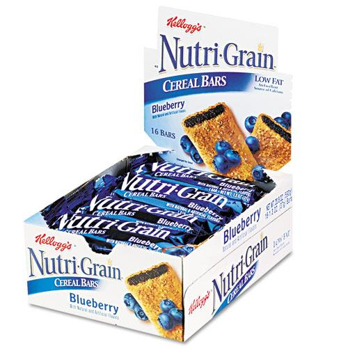Nutri-Grain Blueberry Cereal Bars 1.5oz Bars 16ct Box
