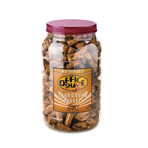 Old Fashioned Nugget Gems Salted Sourdough Pretzels 30oz Canister