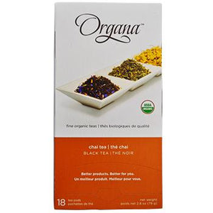 Organa Chai Tea Pods 18ct Box