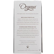 Organa English Breakfast Tea Pods 18ct Box back