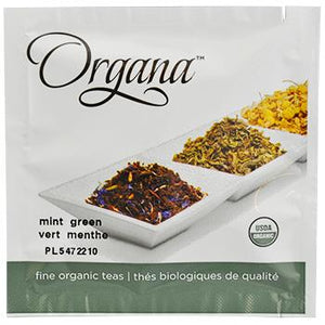 Organa Mint Green Tea Pods 18ct