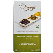 Organa Panfired Green Tea Pods 18ct Box