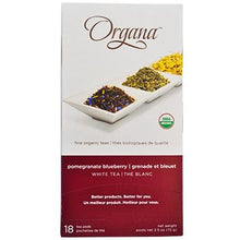 Organa Pomegranate Blueberry Tea Pods 18ct Box