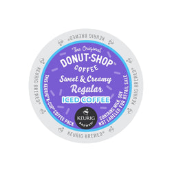 The Original Donut Shop Sweet & Creamy Regular Iced Coffee K-Cup® Pods 22ct