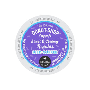 The Original Donut Shop Sweet & Creamy Regular Iced Coffee K-Cup® Pods 88ct