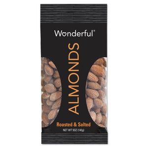 Paramount Farms Wonderful Almonds Dry Roasted & Salted 5oz 8ct