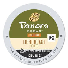 Panera Bread at Home Light Roast K-cup Pods 24ct