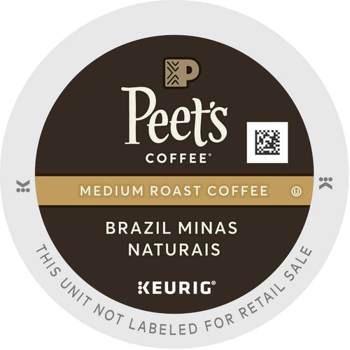 Peet's Coffee Brazil Minas Naturais K-Cups 88ct