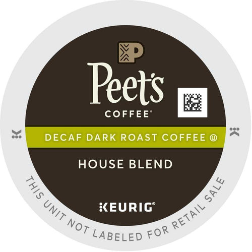 Peet's Coffee Decaf House Blend K-Cups 88ct
