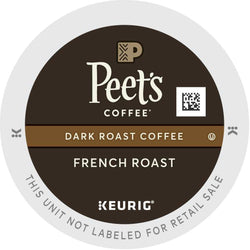 Peet's Coffee French Roast K-Cups 22ct