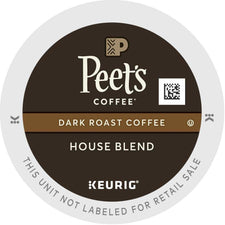 Peet's Coffee House Blend K-Cups 22ct