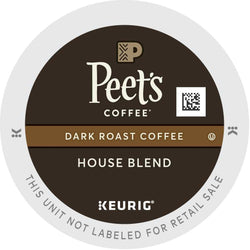 Peet's Coffee House Blend K-Cups 88ct