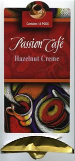 Lacas Passion Cafe Hazelnut Creme Coffee Pods 18ct