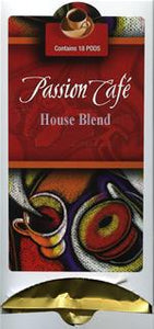 Lacas Passion Cafe House Blend Coffee Pods 18ct