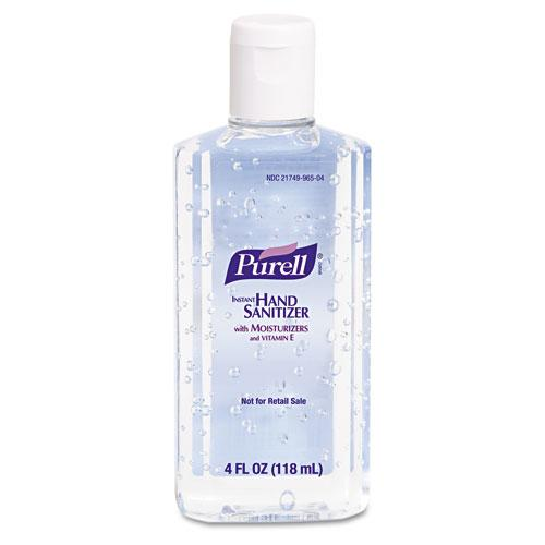 Purell Liquid Instant Hand Sanitizer 4oz Flip-Cap Bottles 24ct Case