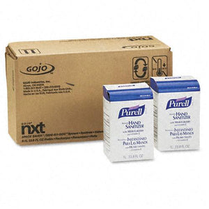 Purell Liquid Instant Hand Sanitizer NXT Refill 1000-ml Pouches 8ct Case