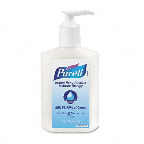 Purell Liquid Moisture Therapy Instant Hand Therapy 8oz Pump Bottle