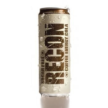 Recon Coffee Sugar Free Energy Cola 24 12oz Cans