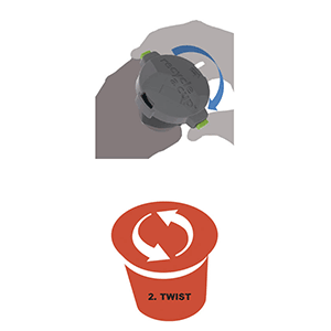 Recycle a Cup K-cup recycling device Step 2