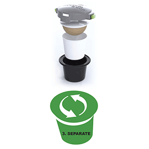 Recycle a Cup K-cup recycling device Step 3