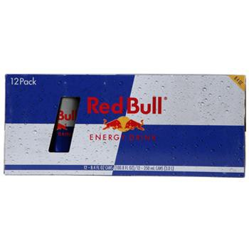 Red Bull Energy Drink 12 8.4oz Cans Front Case