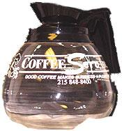 Black Coffee Decanter