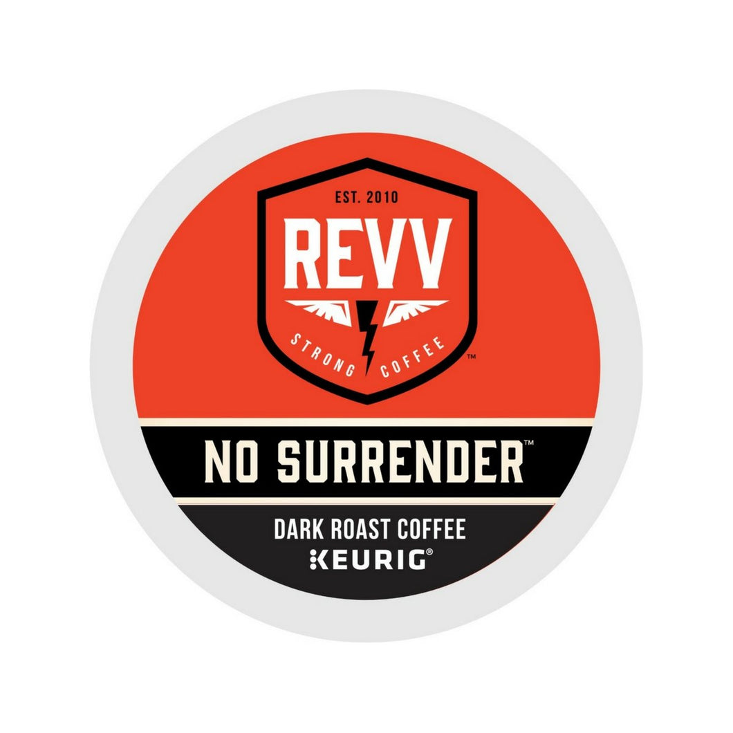 Revv NO SURRENDER Coffee K-cup Pods 24ct
