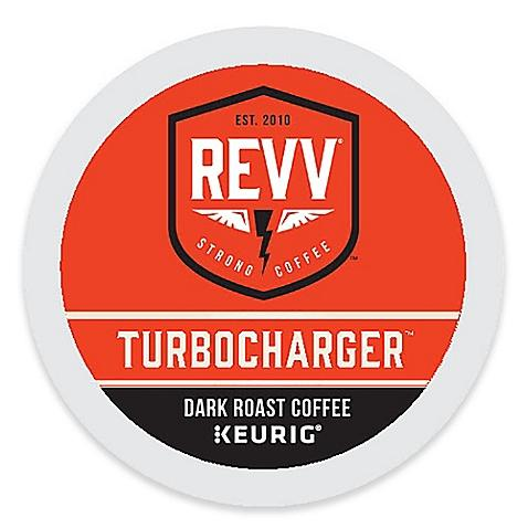 Revv TURBOCHARGER Coffee K-cup Pods 24ct