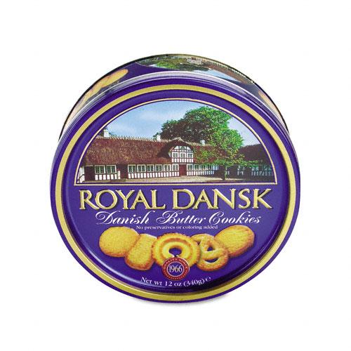 Royal Dansk Danish Butter Cookies 12oz Tin