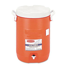 Rubbermaid 5 Gallon Orange Insulated Beverage Container Water Cooler