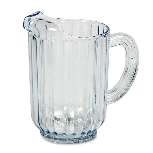 Rubbermaid Clear Bouncer Plastic Pitcher 60oz Capacity
