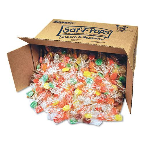 Saf-T-Pop Assorted Flavors Bulk 25lb Box