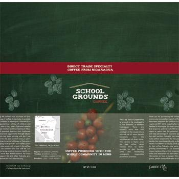 School Grounds Coffee Coffee Beans 12oz Bag Info