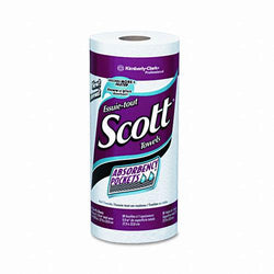 Scott Perforated Single Ply Paper Towel Rolls 15ct