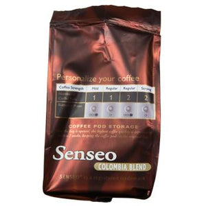 Senseo Origins Colombia Blend Coffee Pods 16ct Left Side