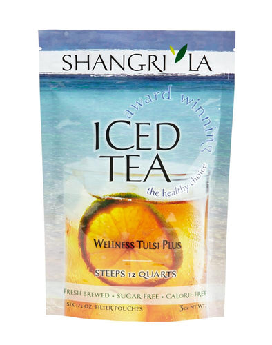 Shangri La Wellness Tulsi Plus Iced Tea Packets 6ct
