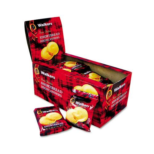Shortbread Highlander Cookies 2 Cookie Pack 12ct Box
