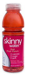 Skinny Water Goji Fruit Punch Shape 24 16.9oz Bottles