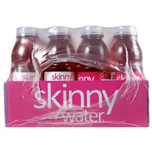 Skinny Water Raspberry Pomegranate Crave Control 24 16.9oz Bottles Box Side
