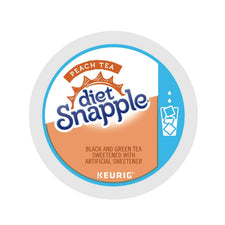 Snapple Diet Peach Iced Tea K-cups 22ct