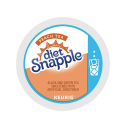 Snapple Diet Peach Iced Tea K-cups 88ct